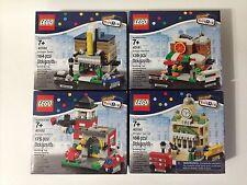NEW LEGO Toys R Us Bricktober Mini Modular Complete Set 40180 40181 40182 40183