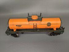 Mth Bnsf Orange Tanker Car O Scale 12689 Burlington Northern Railway (i3)