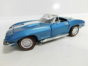 1:18 Ertl 1967 Corvette 427 Convertible Marina Blue *2,500*