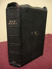 1890 circa Bible,  Bagster & Sons -Amy Carmichael - Personal Bible Thomas Walker