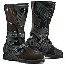 SIDI ADVENTURE 2 Gore-Tex Motorcycle Brown/Black Off Road Green Lane Boots