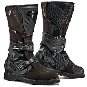 SIDI ADVENTURE 2 Gore-Tex Motorcycle Brown/Black Off Road Green Lane Boots
