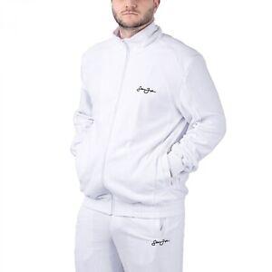Sean John Classic Logo Essential Velours Trackjacket Herren Zip-Jacke 6027241