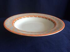 "Villeroy & Boch /Gallo Switch 4 Navarra 8 1/2"" rimmed soup bowl (minor scratches"