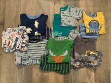Carters Pajamas Boys Size 3t LOT OF 7