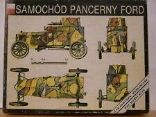 "Maquette 1/35 TANKOMASTER Ref A/C-1 Polish Armored car FORD ""T"" 1919"