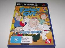 Family Guy Video Game PS2 PAL *No Manual*