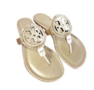 Wmns Size 9.5 Tory Burch Miller Fringe Sandals Style 55199 Original Price $228