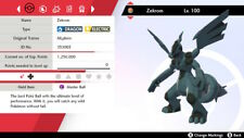Pokemon Sword and Shield Zekrom 6IVs Shiny Fast Delivery
