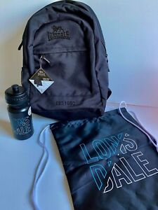 LONSDALE Children Women Men Backpack Bag Drink Bottle Drawstring Bag BRAND NEW