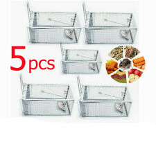 New listing 5× Rat Trap Cage Small Live Animal Pest Rodent Mouse Control Catch Hunting Trap