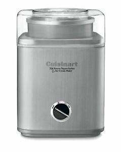 Cuisinart ICE-30BC Pure Indg 2-Qt Automatic Frozen Yogurt Sorbet Ice Cream Maker