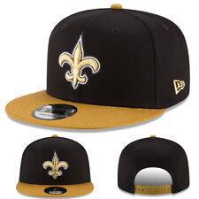 low priced e07ec 16abd New era New Orleans Saints Snapback Hat Official 2 Tone Color Black Brown  Cap