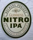 Guinness Nitro IPA Beer Sign Metal Tin Harp Dublin Ireland St James Gate 24x19