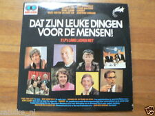 LP RECORD VINYL DAT ZIJN LEUKE DINGEN VOOR DE MENSEN 2 LP SET SONNEVELD,HALSEMA,