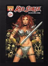 Red Sonja #0 VF/NM Dynamite Greg Land Cover 2005 Black Variant