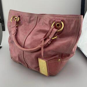 Car Shoe Hobo Bag Pink Large Purse Handbag Leather
