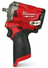 "Milwaukee M12FIW38-0 12 V 3/8"" Impact Wrench - Red (Body Only)"