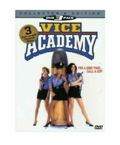 VICE ACADEMY - 1, 2, & 3 - THREE DVD SET WITH SLIP COVER - MADACY HOME VIDEO