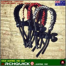 New COMPOUND BOW Sling BRAIDED ADJUSTABLE BOW WRIST SLING ARCHERY 4 colours