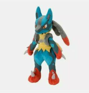 Genuine Pokémon TOMY Mega Lucario Soft Plush Toy | 22cm new with tags