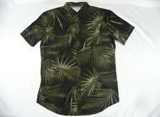 Billabong Men Palmdale Camo Shirt Short Sleeve Large