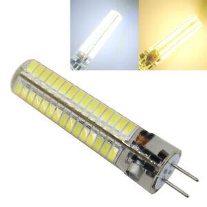 2pcs GY6.35 7W 120-5730 SMD LED Silicone BULB AC DC12V-24V WHITE/WARM Light LAMP