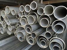 Edelstahl Rundrohr Rohr 21,3 mm - 168,3 mm V4A 1.4571 Rohre bis 1,45 m