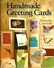 """Handmade Greeting Cards"" by Maureen Crawford (1991) Hardcover w/DJ - Free Ship"
