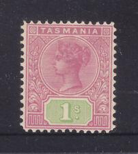 Tasmania: 1/ Tablet Sg 257 Wmk Cr/A Inverted Perf 12.5 Mh Scarce