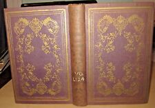 (1852) Ladies' illustrated KEEPSAKE rare Antique AMERICAN gift book PROSE POETRY