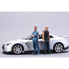 1:24 Fast & Furious Resin Figures Kit Unassambled Unpainted ( 2 figures NO CAR)