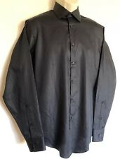 Geoffrey Beene Wrinkle Free Men's Longsleeve Button Front Shirt Medium 15 1/2