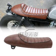 Brown Hump Universal Cafe Racer Seat Classic Saddle For Honda CB350 CB450 CB750