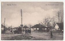 Ak Cuprija Serbien Zar Ferdinand Strasse Ћуприја 1917 IWW ! (A1111