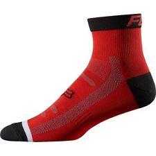 """Fox Racing Trail Sock 4"""" Red L/XL"""