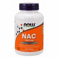 N-Acetyl-L-Cysteine (NAC) 120 Tabs 1000 mg by Now Foods