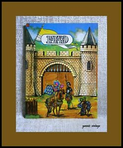 BAYARD KNIGHTS SOLDIERS Paper Craft New Colour 8 Pages VTG 70s Made in Belgium