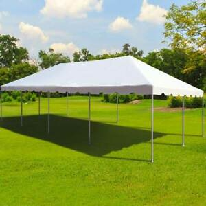 Weekender 20x40 White PVC Tent Party Canopy West Coast Frame Outdoor Gazebo