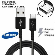 Samsung Genuine 1.5M Fast charge Micro USB cable for galaxy S6, S6+,7,7+ (Black)