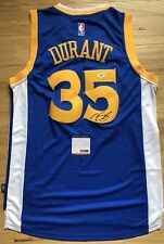 PSA GOLDEN STATE WARRIORS KEVIN DURANT SIGNED autographed NBA basketball jersey
