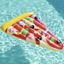 Bestway Luchtbed Pizza Party 188x130 cm Kinder Ligbed Speelgoed Zwembad