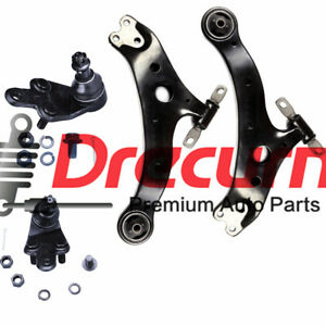 4PC Front Lower Control Arm Ball Joint for 2007 2008 2009 2010 2011 Toyota Camry