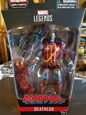 Deadpool Marvel Legends - Deathlok w/Build-A-Figure - Sasquatch