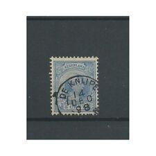 """Nederland 35 met """" DE KNIJPE 1898""""  VFU/gebr  CV 17,5 €"""