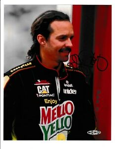 Kyle Petty NASCAR Signed Autograph 8x10 Photo Upper Deck Coa