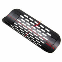 "9"" Motorcycle Exhaust Muffler Pipe Black Heat Shield Cover Heel Guard Universal"