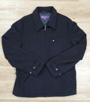 Ralph Lauren Purple Label Mens Jacket Size Large Cashmere Black