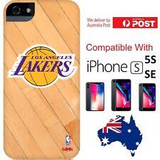 NBA x HOOT Los Angeles Lakers Cover Case basketball Logo iPhone 5 / 5s / SE