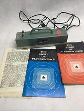 Vintage Raytech UltraViolet Equipment Story Of Fluorescence Light Lg